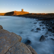 Dunstanburgh Castle Sunset