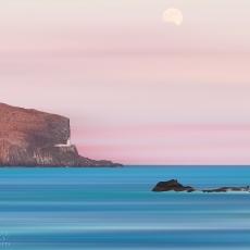 Mooning The Bass Rock